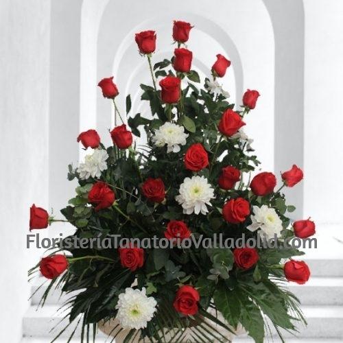 Composición Floral Fúnebre Valladolid