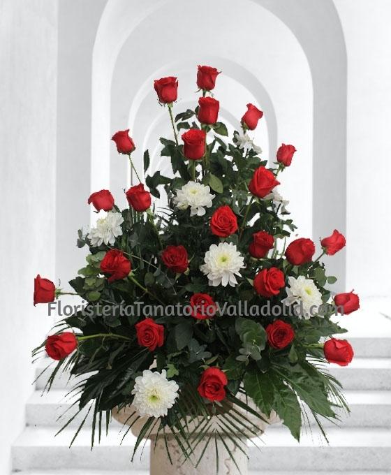 enviar flores para funeral urgentes al Tanatorio, Enviar Centro de flores para entierro en Valladolid, Flores funerarias urgentes para Valladolid, Mandar centros funerarios de flores para Valladolid