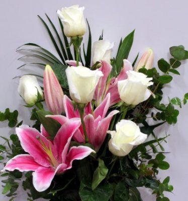 Centro de Flores Funerario, Flores para Difunto, Centro de Flores para Tanatorio, Envío de Flores para Difunto, Flores para Defunción, Flores Tanatorio