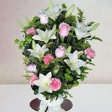 Ramos de flores para difuntos de Valladolid